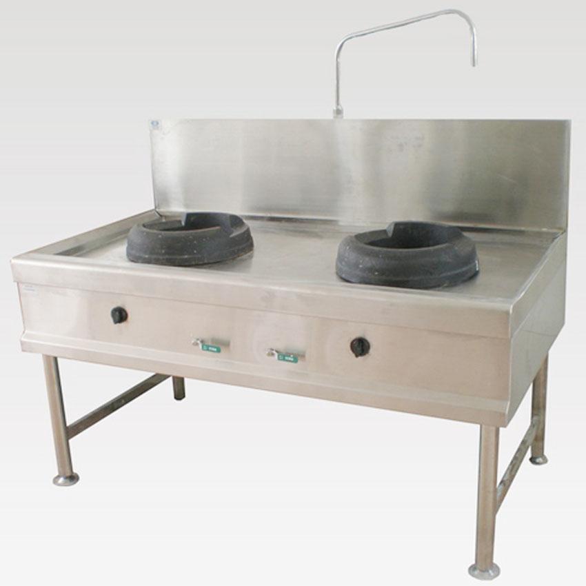 ưu điểm của bếp ga công nghiệp 2 họng