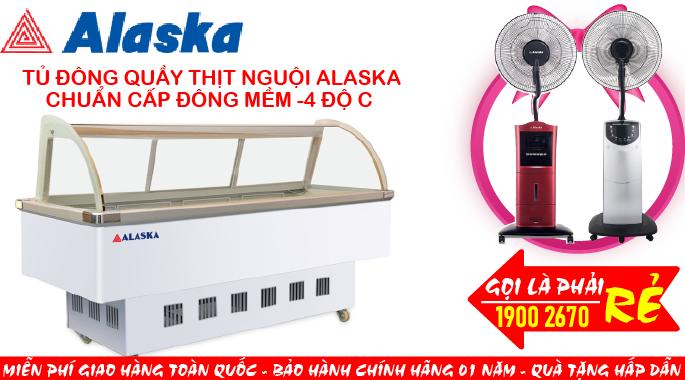 TỦ ĐÔNG QUẦY THỊT NGUỘI ALASKA SC-2000Z (R134A)
