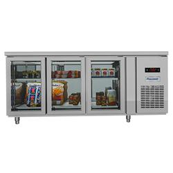 BÀN MÁT INOX DM 410 LÍT BMQ-3MK1875 QUẠT GIÓ (R404A) (2021)