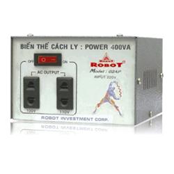 BIẾN THỂ CÁCH LY 1 PHA ROBOT 2.0 KVA IT1P2000-D (ĐỒNG) (2021)