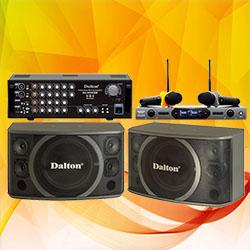 DÀN ÂM THANH DALTON MS: 04 (KSN-412E - SM-6500 - DA-9000XB)