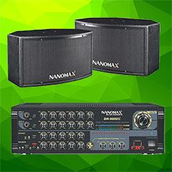 DÀN ÂM THANH NANOMAX MS: 12 (RF-1122A - DH-9800X)