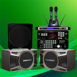 DÀN ÂM THANH PARAMAX MS: 04 (LS-5000   SA-999 PIANO   D-1000   SUB-1000   PRO-8000)