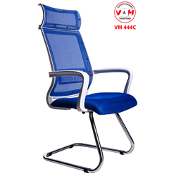 GHẾ CHÂN QUỲ PHÒNG GAME - NET CHÂN INOX VĂN MINH VM-444C
