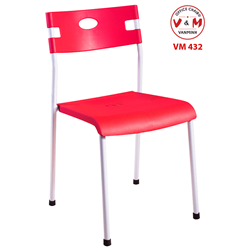GHẾ TỰA PHÒNG ĂN CHÂN SẮT VĂN MINH VM-432