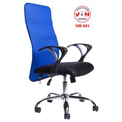 GHẾ XOAY TRƯỞNG PHÒNG CHÂN SẮT VĂN MINH VM-441