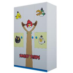 TỦ ÁO GỖ CÔNG NGHIỆP ANGRY BIRD F21 1.2 MÉT T05-01