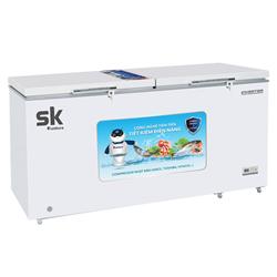 TỦ ĐÔNG 2 CÁNH INVERTER 1100 LÍT SKF-1100SI ĐỒNG (R290A) (2021)