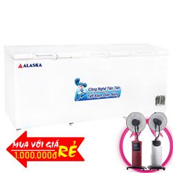 TỦ ĐÔNG 1400 LÍT HB-1400 NHÔM (R290)