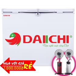 TỦ ĐÔNG DAIICHI 289 LÍT DC-CF289A NHÔM (R134A)