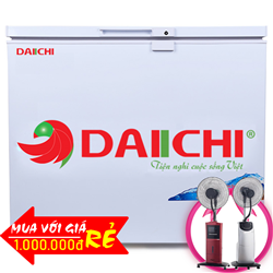 TỦ ĐÔNG DAIICHI 360 LÍT DC-CFXD3689A   ĐỒNG (R600A)