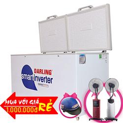 TỦ ĐÔNG INVERTER 870 LÍT DMF-8779ASI ĐỒNG (R134A)