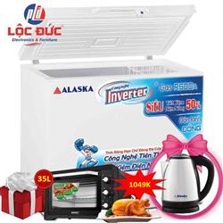 TỦ ĐÔNG INVERTER ALASKA 400 LÍT BD-400CI ĐỒNG (R600A)