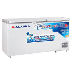 TỦ ĐÔNG INVERTER ALASKA 550 LÍT HB-550CI ĐỒNG (R600A) (2021)