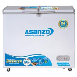 TỦ ĐÔNG INVERTER ASANZO 235 LÍT AS-3100R1 ĐỒNG (R600A)
