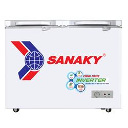 TỦ ĐÔNG INVERTER SANAKY 270 LÍT VH-3699A4K ĐỒNG (R600A) (KÍNH CƯỜNG LỰC)