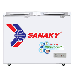 TỦ ĐÔNG INVERTER SANAKY 270 LÍT VH-3699A4KD ĐỒNG (R600A) (KÍNH CƯỜNG LỰC) (HÀNG BỎ MẪU)