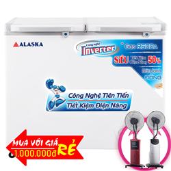TỦ ĐÔNG MÁT ALASKA INVERTER 350 LÍT FCA-3600CI ĐỒNG (R600A)