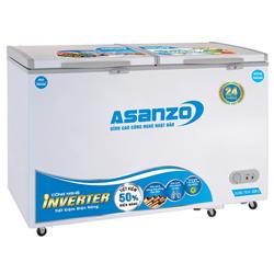 TỦ ĐÔNG MÁT INVERTER ASANZO 220 LÍT AS-3000R2 ĐỒNG (R600A)