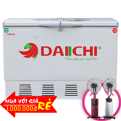 TỦ ĐÔNG MÁT DAIICHI 369 LÍT DC-CF3699W ĐỒNG (R134A)