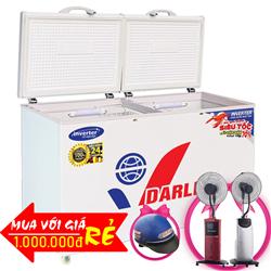 TỦ ĐÔNG MÁT INVERTER 370 LÍT DMF-3699WI-1 ĐỒNG (R134A)