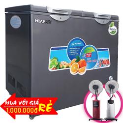 TỦ ĐÔNG MÁT HÒA PHÁT 205 LÍT HCF-506S2PĐSH ĐỒNG (R600A)