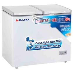 TỦ ĐÔNG MÁT INVERTER ALASKA 500 LÍT BCD-5068CI ĐỒNG (R600A)