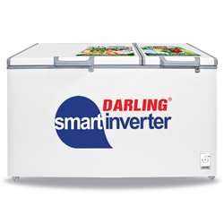 TỦ ĐÔNG MÁT INVERTER DARLING 770/540 LÍT DMF-7699WSI-4 ĐỒNG (R134A/R600A) (ĐÔNG MỀM)
