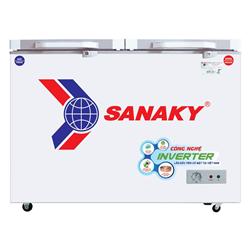 TỦ ĐÔNG MÁT INVERTER SANAKY 260 LÍT VH-3699W4KD ĐỒNG (R600A) (KÍNH CƯỜNG LỰC)