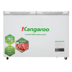 TỦ ĐÔNG MÁT KANGAROO 408/252 LÍT KG408S2 ĐỒNG (R600A) (ĐÔNG MỀM) (2021)