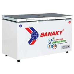 TỦ ĐÔNG MÁT SANAKY INVERTER 200 LÍT VH-2599W4K ĐỒNG (R600A) (KÍNH CƯỜNG LỰC)
