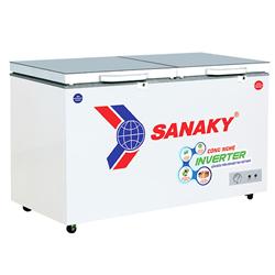 TỦ ĐÔNG MÁT SANAKY INVERTER 200 LÍT VH-2599W4KD ĐỒNG (R600A) (KÍNH CƯỜNG LỰC)