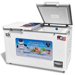 TỦ ĐÔNG MÁT SUMIKURA 400 LÍT SKF-400D(JS)/SKF-400DT ĐỒNG (R600A) (KÍNH LÙA)
