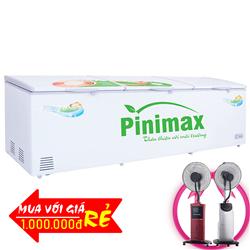 TỦ ĐÔNG 3 CÁNH PINIMAX 1300 LÍT PNM-139AF ĐỒNG (R600A)