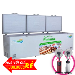 TỦ ĐÔNG 3 CÁNH PINIMAX INVERTER 1100 LÍT PNM-119AF3 ĐỒNG (R600A)