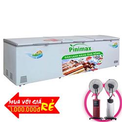 TỦ ĐÔNG 3 CÁNH PINIMAX INVERTER 1300 LÍT PNM-139AF3 ĐỒNG (R600A)