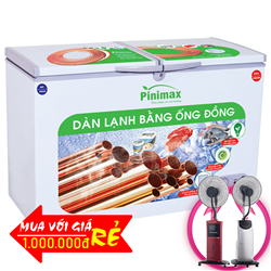 TỦ ĐÔNG PINIMAX INVERTER 890 LÍT PNM-89AF3 ĐỒNG (R600A)