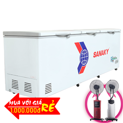 TỦ ĐÔNG INVERTER 1200 LÍT VH-1399HY3 ĐỒNG (R600A)
