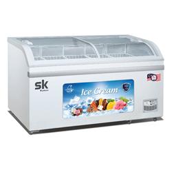 TỦ ĐÔNG TRƯNG BÀY KEM SUMIKURA 500 LÍT SKFS-500C(FS) ĐỒNG (R290) (5 RỔ)