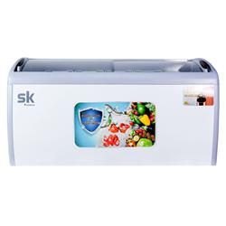 TỦ ĐÔNG TRƯNG BÀY KEM SUMIKURA 500 LÍT SKFS-500C ĐỒNG (R290) (ĐÔNG TRƯNG BÀY KEM) (LOW-E) (3 RỔ)