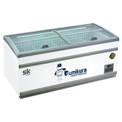 TỦ ĐÔNG TRƯNG BÀY KEM SUMIKURA 500 LÍT SKIF-150SX ĐỒNG (R290A) (2021)