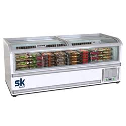 TỦ ĐÔNG TRƯNG BÀY KEM SUMIKURA 1150 LÍT SKIF-250DTS ĐỒNG (R290A) (2021)