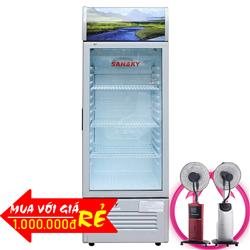 TỦ MÁT 1 CỬA INVERTER 340 LÍT VH-409K3 ĐỒNG (R600A)