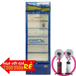 TỦ MÁT 1 CỬA INVERTER SANAKY 400 LÍT VH-459HP3 ĐỒNG (R600A)