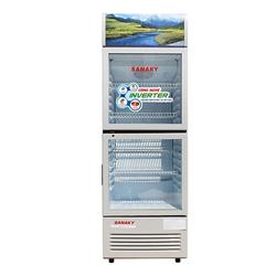 TỦ MÁT 2 CỬA SANAKY INVERTER 200 LÍT VH-258W3L NHÔM (LOW-E) (R600A)