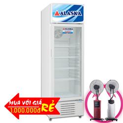 TỦ MÁT ALASKA 300 LÍT LC-433H NHÔM (R600A)