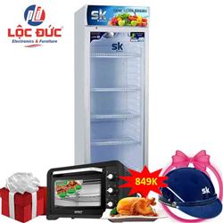 TỦ MÁT INVERTER 400 LÍT SKSC-400I HỢP KIM (R600A)