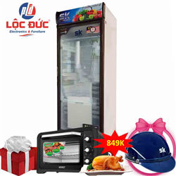 TỦ MÁT INVERTER 450 LÍT SKSC-450I ĐỒNG (R134A)
