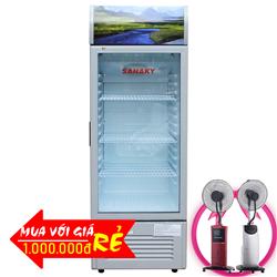 TỦ MÁT SANAKY 290 LÍT VH-358K NHÔM (R600A)