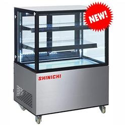 TỦ MÁT TRƯNG BÀY BÁNH KEM SHINICHI SH-640V (1.5M) (NHẬT BẢN) (3 TẦNG) (R134A)